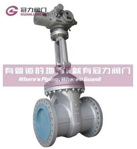 Class150 Class300 Class600 Wcb Flange Gate Valve pictures & photos