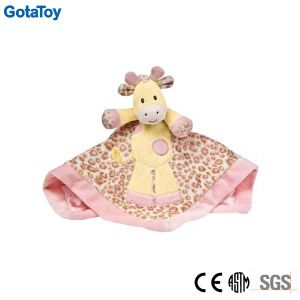 Custom Plush Baby Toy Plush Giraffe Baby Blanket Doudou pictures & photos