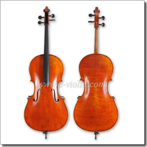 4/4, 3/4 Professional Handworking Flamed Cello (CH600VA) pictures & photos