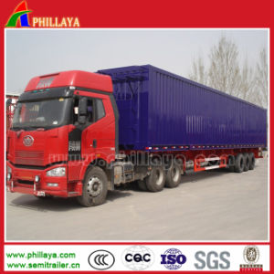 China Yangzhou Cimc Manufacture Van Cargo Enclosed Trailer pictures & photos