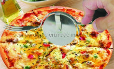 Stainless Steel Pizza Wheel Cutter, Pizza Fork (SE1103) pictures & photos
