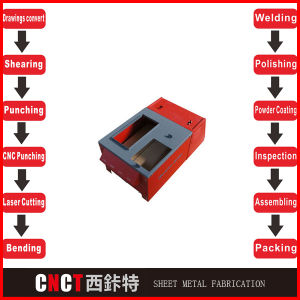 China Precision Steel Metal Electrical Enclosure Box pictures & photos