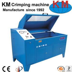 Hydraulic Hose Test Bench Km-150 with ISO Certification pictures & photos