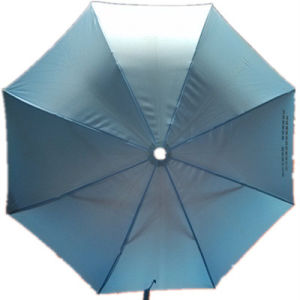 UV Protection Pongee Straight Umbrella (JYSU-04) pictures & photos