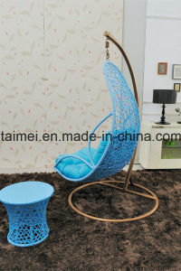 Maple Leaf Basket Swing Chair with Arm Rest pictures & photos