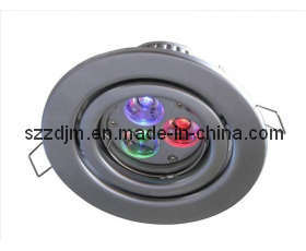 LED RGB Downlight Colour Changing