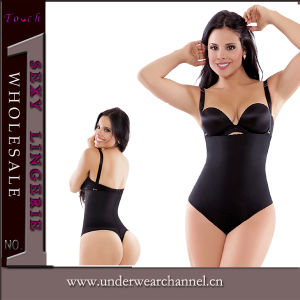 Black Latex Full Sweat Cincher Neoprene Waist Trainer Slimming Body Shaper (TG9991) pictures & photos