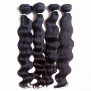Malaysian Natural Hair Weaving Loose Wave 22inches pictures & photos