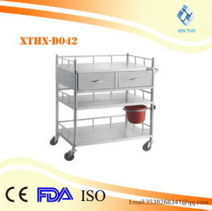 Factory Direct Price Three Layer with One Drawer Therapy Trolley pictures & photos