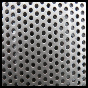 Hot-Dipped Galvanized Steel Perforated Metal Mesh/Micro Hole Perforated Sheet pictures & photos