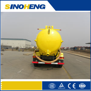 Sinotruk HOWO Vacuum Sewage Suction Truck with Durable Tank pictures & photos