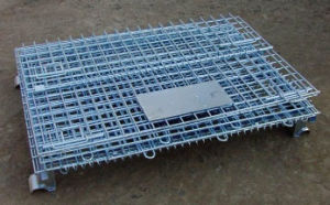 Steel Storage equipment Wire Mesh Cage (800*600*640) pictures & photos