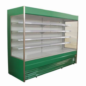 Plug in Multideck Showcase for Fruit and Vegetable Display pictures & photos