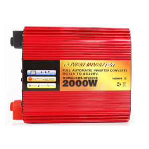 2000W Solar Power Inverter Red Cover pictures & photos