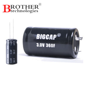 High Voltage Ultracapacitor 3.0V 360f Farad Capacitor pictures & photos