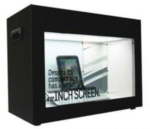 19 Inch Transparent Advertising Machine pictures & photos