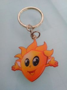 Custom Key Chain, Cute Printing Key Ring (GZHY-KC-022) pictures & photos