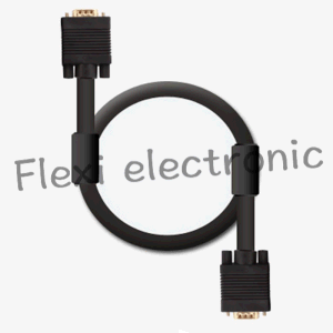 VGA Cable 15 Pin Male to 15 Pin Male pictures & photos
