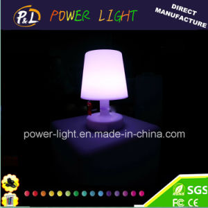 Wireless Rechargeable Decorative RGB LED Lamp pictures & photos