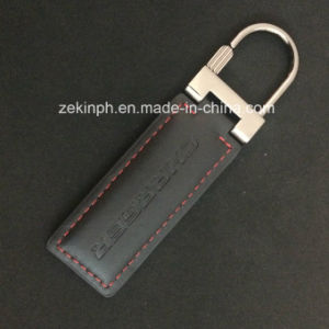 Fashion Metal and Leather Key Chain pictures & photos
