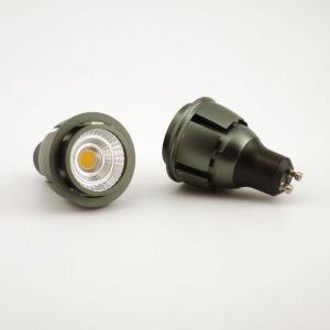 Aluminum 7W COB LED Recessed Down Light GU10 Bulb pictures & photos