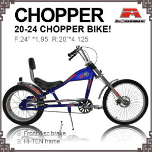 20-24 Inch Big Tire Longer Beach Chopper Bicycle for Adult (AOS-2024S-7) pictures & photos