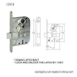 British&Swdish Dood Lock Body Mortise Lock pictures & photos