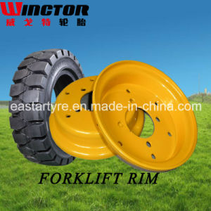 China High Qualiity 3.00d-8 4.00e-9 Forklift Tyre Rims pictures & photos