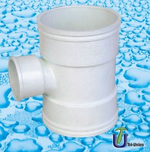 UPVC Reducing Downstream Tee (BS) pictures & photos