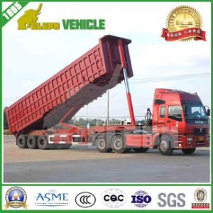Three Axles Hydraulic Cylinder Dumper Truck