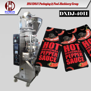 Dxdj-40II Automatic Ketchup Sauce Packing Machine pictures & photos