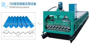 Cold Tile Roll Forming Machine for Roofing Sheet Type (35-125-750)