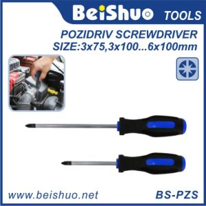 Household Handtools Pozidriv Screwdriver with Comfort Handle pictures & photos