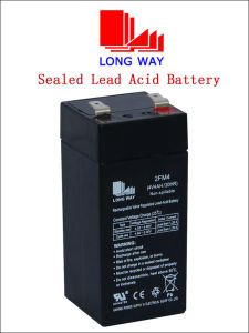 4volt Electric Tool Sealed Rechargeable SLA Battery pictures & photos