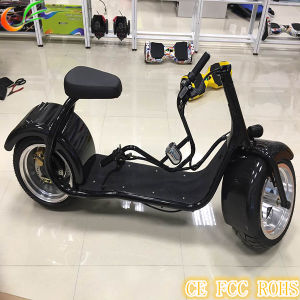2017 Top Seller Harley Style Electric Scooter with Big Wheels 1000W pictures & photos