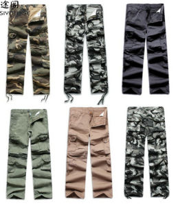 Military 2014 Fashion Pant Men Fashion Camouflage Pants pictures & photos