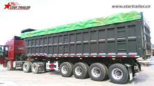 40cbm-60cbm Utility Semi End Dump Trailers pictures & photos