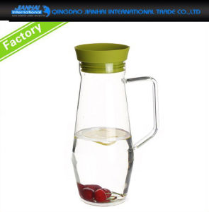 Kitchen Handled Glass Fruit Juice Ice Tea Container pictures & photos