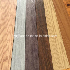 Manufacturer Durable Damp Proof Vinyl Floor PVC Tile Energy Saving Laminate Wood Flooring pictures & photos