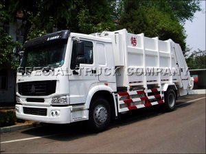 Sinotruk HOWO Rear Garbage Truck 18cbm pictures & photos