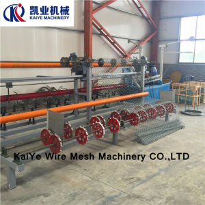 High Speed Chain Link Fence Machine pictures & photos
