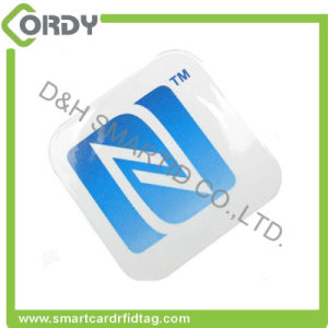 13.56MHz Paper Passive MIFARE DESFire EV1 2K RFID sticker pictures & photos