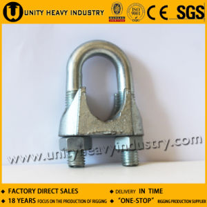 Galvanized Us Type Casted Malleable Wire Rope Clip pictures & photos