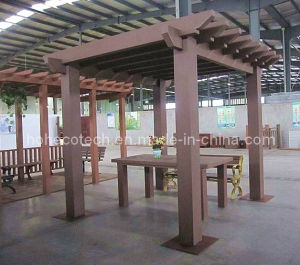 Long Life Outdoor WPC Pergola ,Wood Plastic Composite ,Pergola Weatherproof UV Resistant Outdoor Furniture