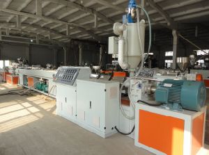 HDPE Water Supply Gas Supply Pipe Extruder Machine pictures & photos