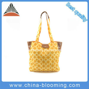 Women Travel Foldable Carrier Tote Shopping Recycle Shoulder Bag pictures & photos