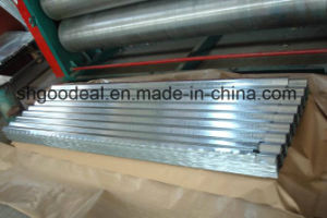 Corrugated Galvanized Steel Sheet / Zinc Coating Corrugated Steel Sheet for Roof Price Per Kg / Metal Roofing pictures & photos