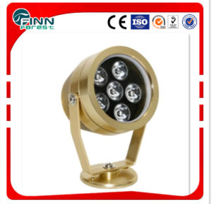 3W/6W Golden Pool Waterproof LED Underwater Spot Lamp pictures & photos