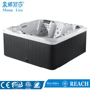 Hot-Sale 5 People Freestanding Outdoor SPA with 2 Lounges (M-3354) pictures & photos