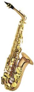 Phosphor Brass Eb Key, F# Key Alto Saxophone